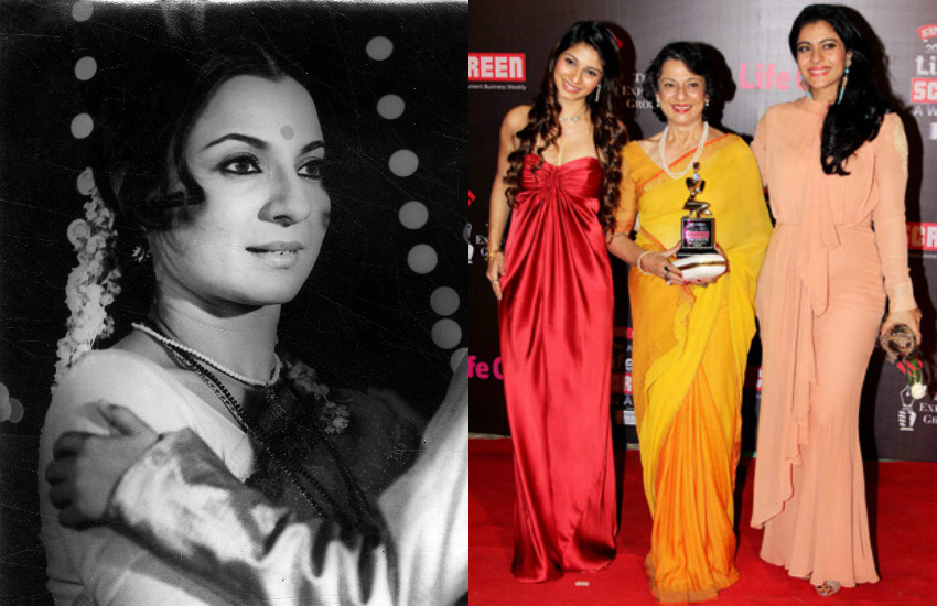 Tanuja: After many years how look like bollywood actress