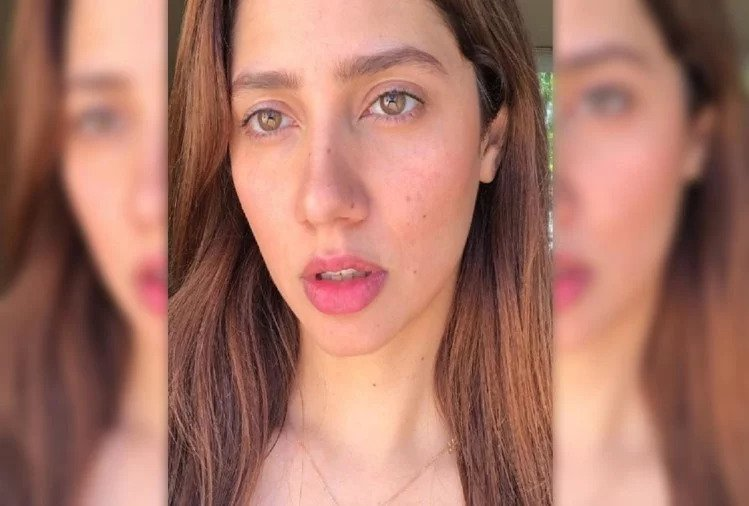 First Time Mahira Khan Without Makeup